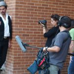 "Filming in Austin, TX -- ""The Good Samaritan"""